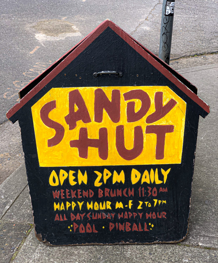 Sandy Hut Portland Dive Bars