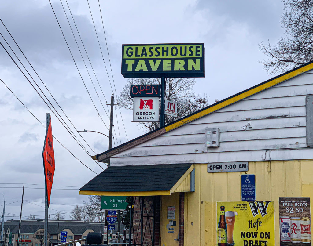 The Glasshouse Tavern Portland Dive Bars Photos by Steven Shomler
