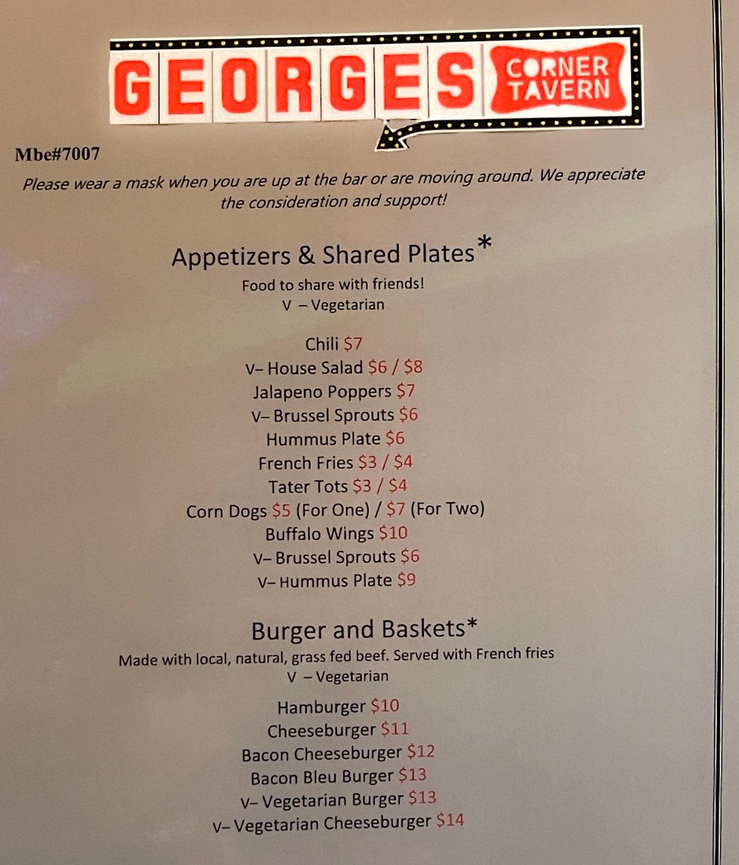 Georges Corner Bar Photos For FACEbook